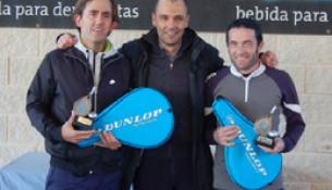 Suso Rial e José Gontán, campións do I Torneo De Pádel De Sar