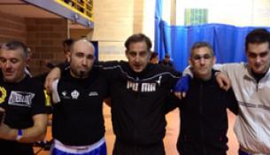 Catro usuarios das instalacións acadan medallas na Copa de Asturias de Kickboxing