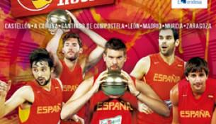 A selección española de baloncesto enfróntase a Macedonia no Multiusos Fontes do Sar