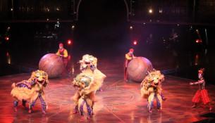 """Case 30.000 persoas desfrutaron do espectáculo """"Dralion"""" do Cirque du Soleil en Santiago"""
