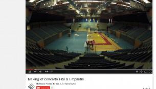 Un vídeo de dous minutos amosa a transformación do Multiusos dende a celebración dun concerto a un adestramento