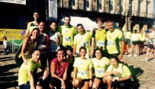Éxito do grupo de Running na Pedestre de Santiago