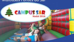 Este Nadal volve o Campus Sar! Inscrición xa aberta