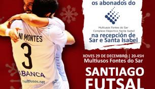 Premiamos aos nosos abonad@s con invitacións para o Futsal