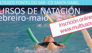 O 16 de xaneiro abre a inscrición aos cursiños de natación