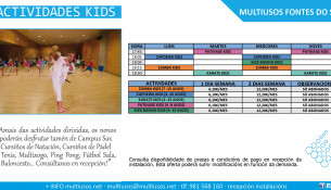 Patinaje, capoeira, kick boxing, zumba y karate: actividades dirigidas para niños abonados