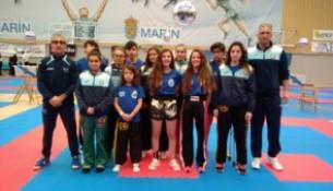 Magníficos resultados del Club Juancho Vázquez en el Campeonato de España Kickboxing infantil, cadete y junior