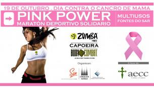 O 19 de outubro MARATÓN DEPORTIVO SOLIDARIO a favor da aecc na loita contra o cancro de mama. Non faltes!