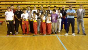 Once metais no Campionato Galego de Kickboxing modalidade Light Contact