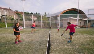 En xaneiro empezan novos cursos trimestrais de pádel e tenis