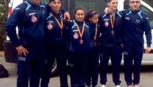O club de Juancho Vázquez consegue 5 metais no Campionato de España de Kickboxing
