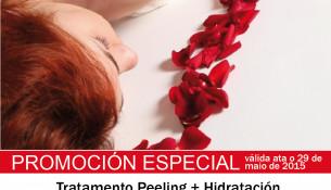 Promoción en Multiestetic en maio: peeling + hidratación de pernas ou espalda, 9,95€