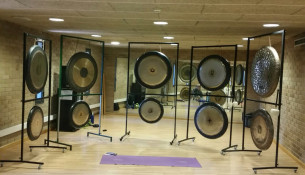 Xornada de relaxación de Puja Gong no Multiusos