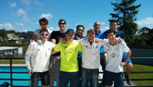 Os equipos de pádel Fontes do Sar xóganse o ascenso na Liga Rías Altas