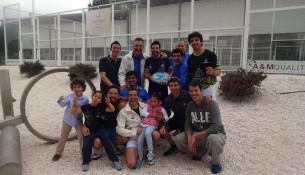 Ascenso a 2ª división da Liga Rías Altas dos equipos de pádel Fontes do Sar