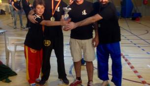 Tres medallas no Campionato de España Norte de Kickboxing
