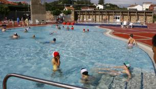 Xa están abertas as piscinas de verán Fontes do Sar