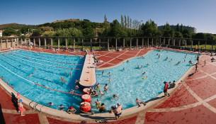 El lunes 22 abren las piscinas de verano Fontes do Sar