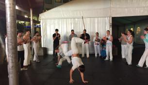 Capoeira na rúa