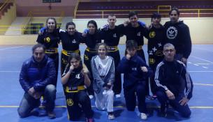 Once deportistas do Club Juancho Vázquez do Multiusos asisten en abril ao Campionato de España de Kickboxing
