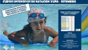 Consulta a oferta de cursiños de natación intensivos deste verán