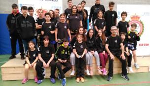 Éxito do Club Juancho Vázquez no Campionato Galego de Kick Light