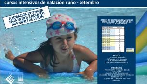 O C.D. Santa Isabel ofrece cursos intensivos de natación este verán