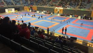 O Multiusos acolleu o Campionato de España de Karate
