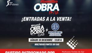 Disfruta del partido Monbus Obradoiro – Morabanc Andorra por sólo 9 euros por ser abonado de las instalaciones