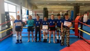 Sete membros do Clube Juancho Vázquez, convocados pola Selección Española de Kickboxing