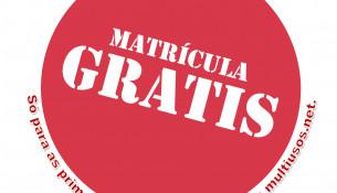 Agora date de alta online e terás MATRÍCULA GRATIS! (oferta limitada ás 300 primeiras altas)