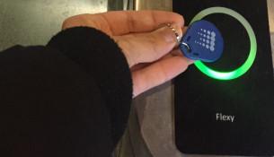 Cambio no sistema de control de accesos