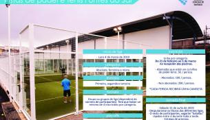 Abierta la inscripción para la Liga de Pádel y Tenis de Sar