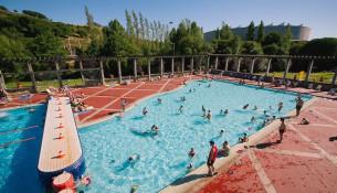 Ya están abiertas las piscinas de verano Fontes do Sar