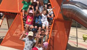 Fiesta de clausura del Campus Sar de este verano, al que asistieron 750 niños