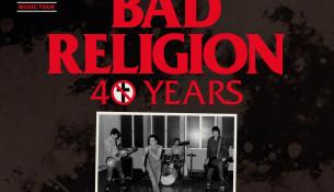 Bad Religion actuará no Multiusos Fontes do Sar o vindeiro 30 de maio