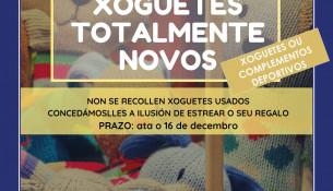 NAVIDAD: Recogida solidaria de juguetes para Cáritas y Multixogo especial de Navidad