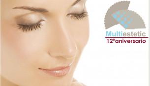 Multiestetic celebra su 12º aniversario con tratamientos a 12€