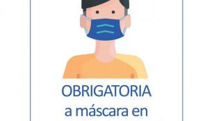 Obrigatoria a máscara en toda a instalación
