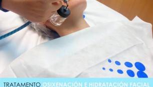 Nova promo en Multiestetic! Tratamento de osixenación e hidratación facial 19€