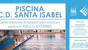 Cursos de natación intensivos para niñxs y adultos en julio y septiembre