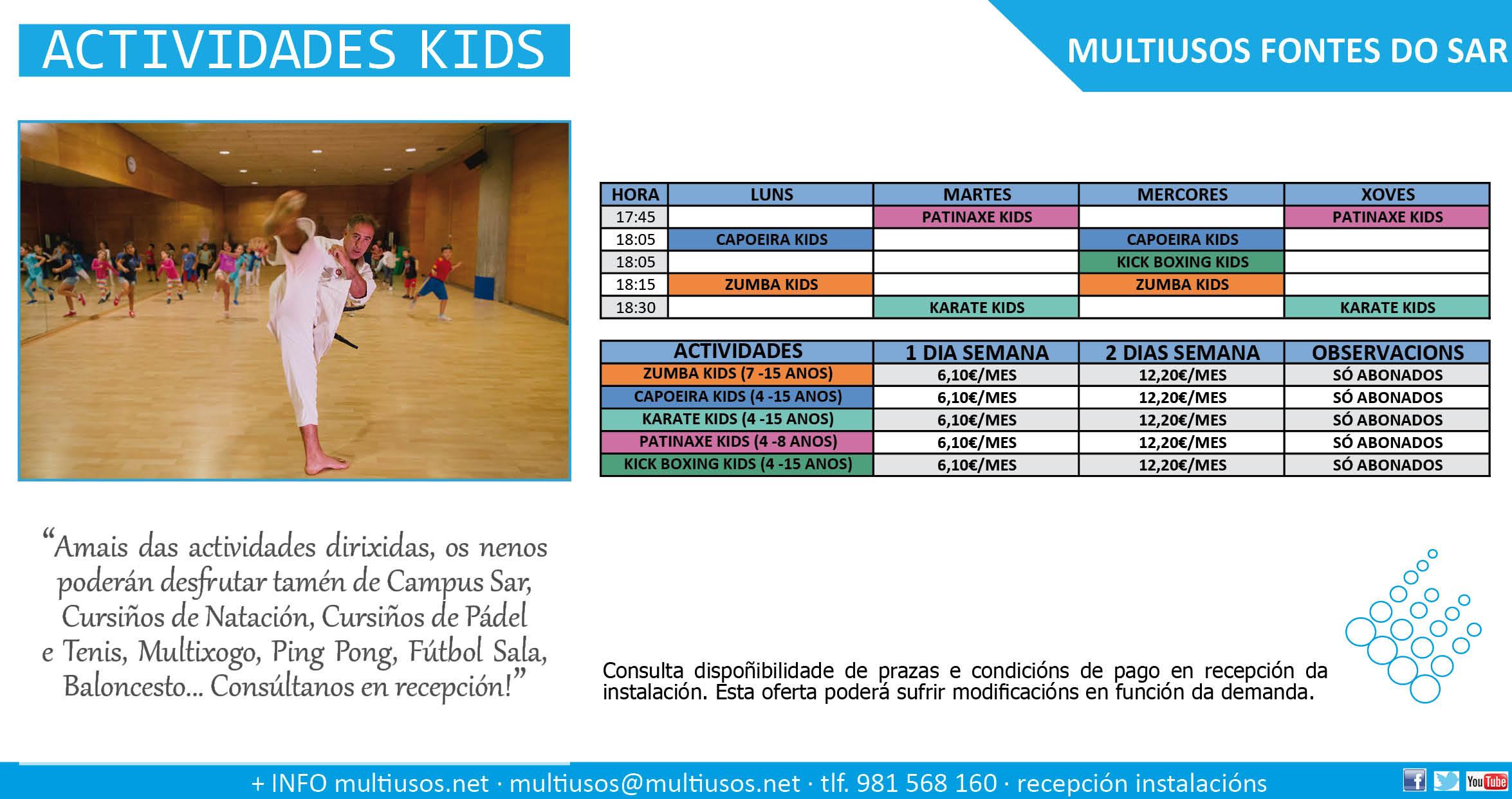 Actividades nenos